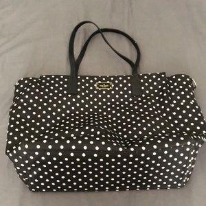 Late Spade baby bag
